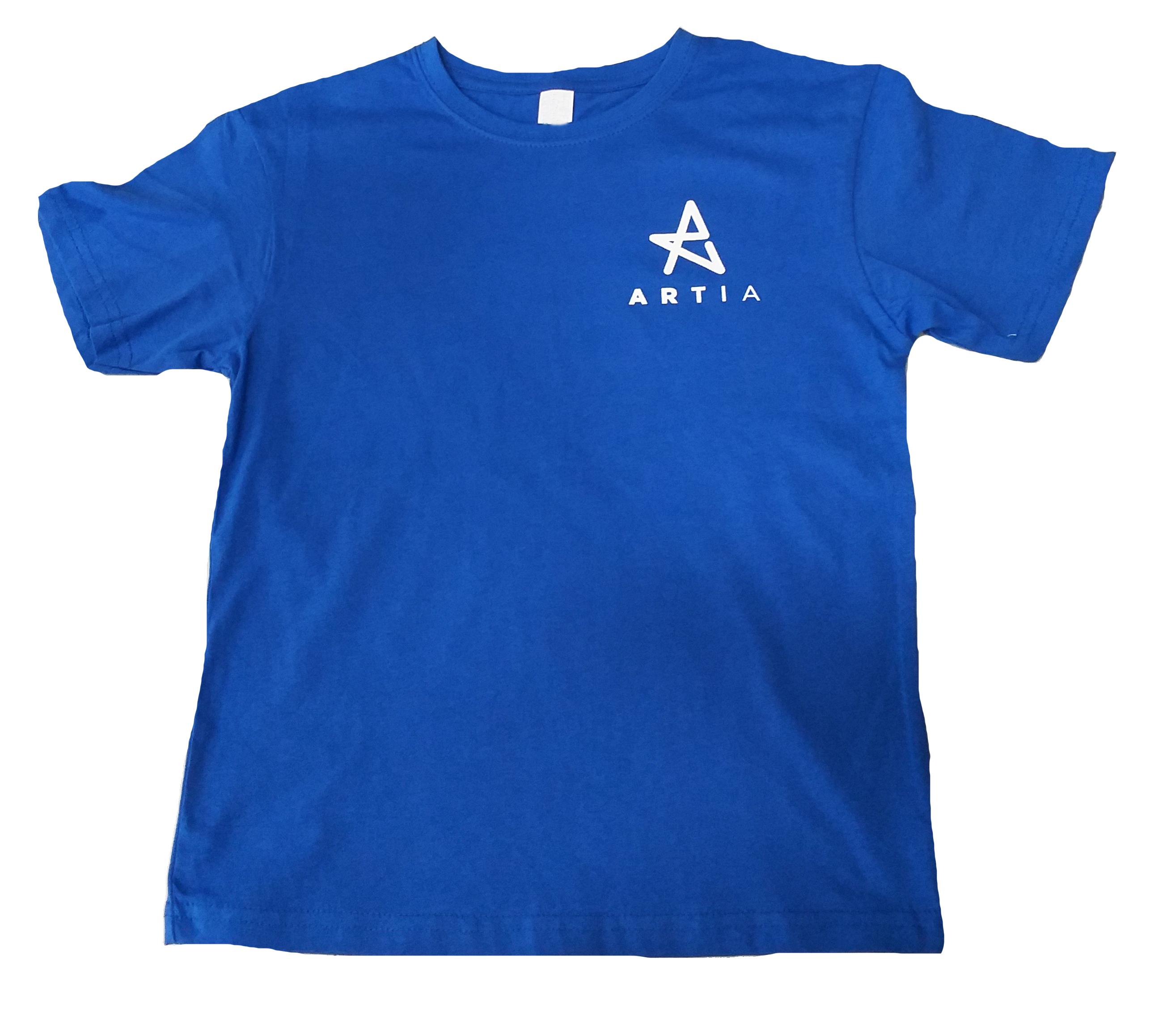 Camiseta_niño_Artia_azul