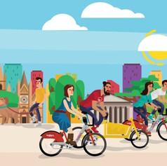 Primer aniversario de Mi bici Pública