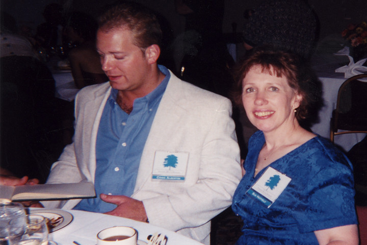 My brother Craig and sister Sue, just a month before his passing.