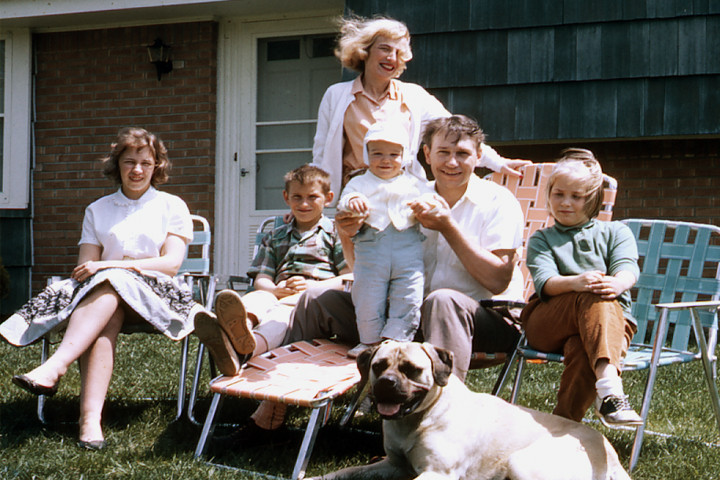 The family picture in 1965
