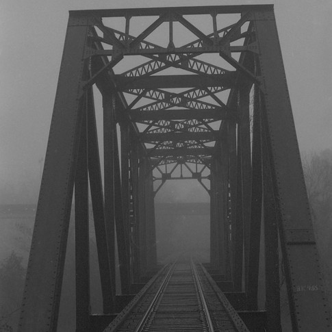 Railroad Tressel and fog2