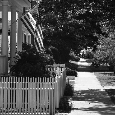 Typical Beaufort, North Carolina setting