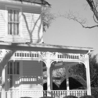 Old home in Greensboro, Georgia