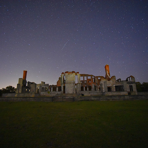 Dungeness Ruins and the Stars
