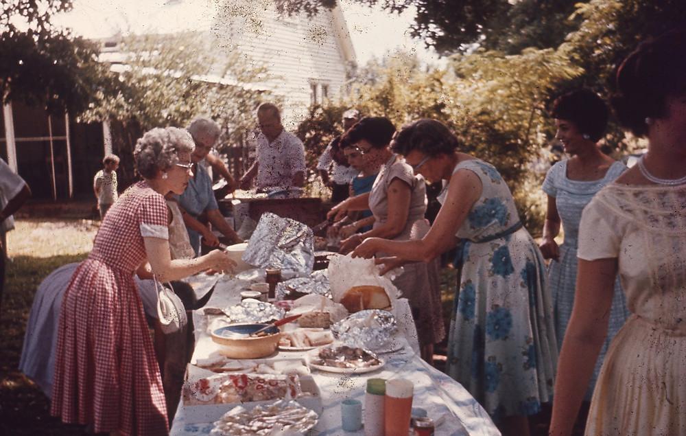 1960s family reunion