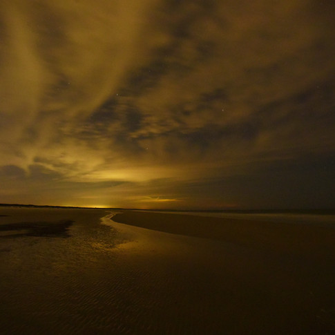 Cumberland Island Beach at Night