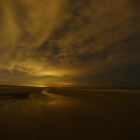 Cumberland Island Beach at Night