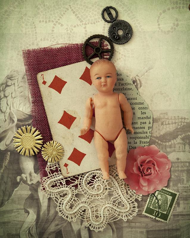 赤ちゃん人形コラ写 2012