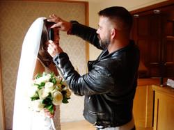 me with a  bride