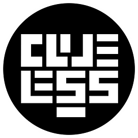 Clueless creations logo black circle.png