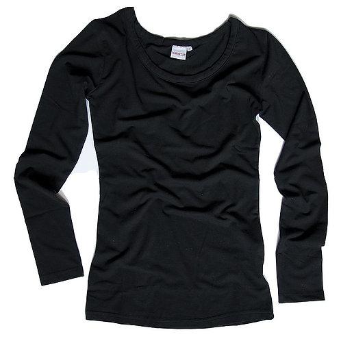 Basic Langarmshirt zwazo WOMAN - schwarz