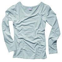 Basic Langarmshirt zwazo WOMAN - weiss