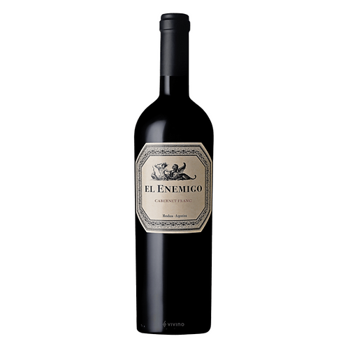 Vino El Enemigo Cabernet Franc 750 ml
