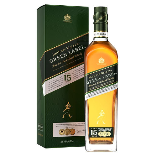 Johnnie Walker Green Label Con Estuche