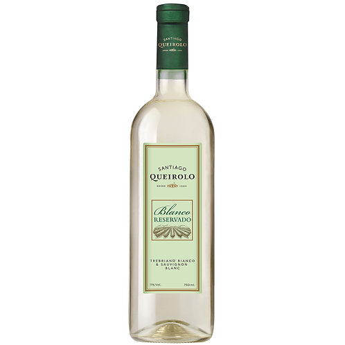 Santiago Queirolo Vino Semi Seco Blanco Reserva