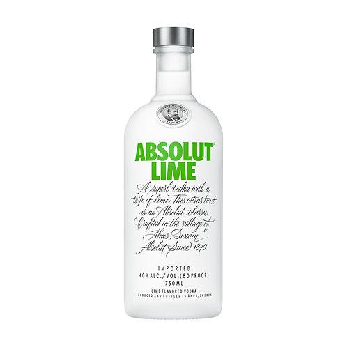 Absolut Lime Vodka 750 ml