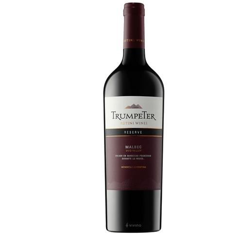 Vino Trumpeter Reserva Malbec 750 ml