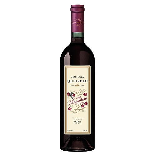Santiago Queirolo Vino Semi Seco Magdalena 750 ml
