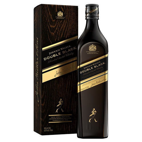 Johnnie Walker Double Black Con Estuche