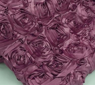 Eggplant Purple Rose
