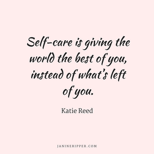 A Reminder To Take Care Of Yourself...
