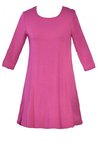 Core Tunic Cerise