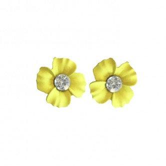 Daisy Earring Yellow