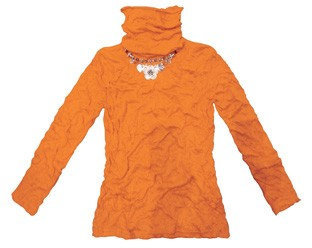 Crush Polo Top Orange