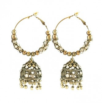 Palace Earrings Gold