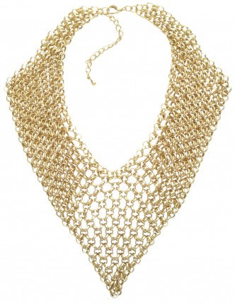 Chainmail Necklace Gold