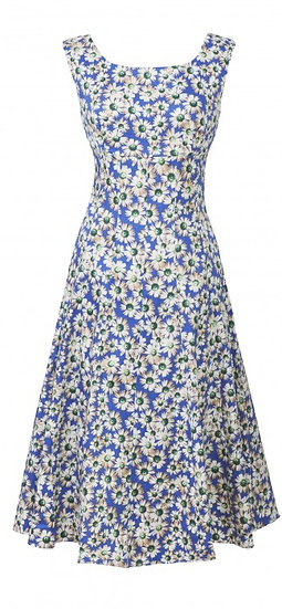 Ascot Sale Dress Blue