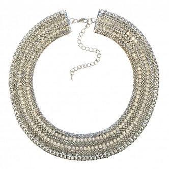 Rocker Necklace Silver