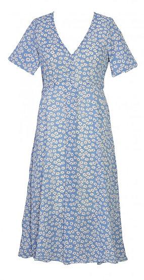 Clover Dress Blue