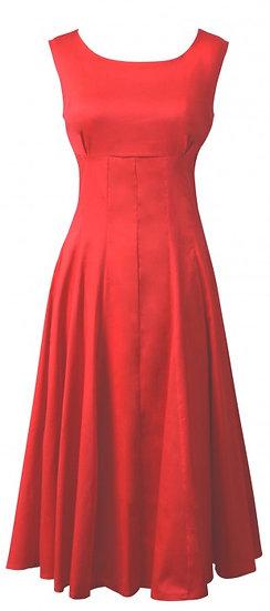 Ramona Flip Dress Red