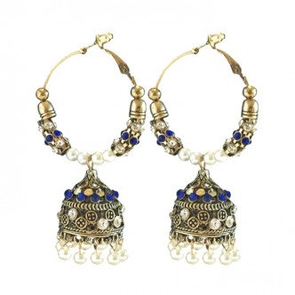 Palace Earrings Blue