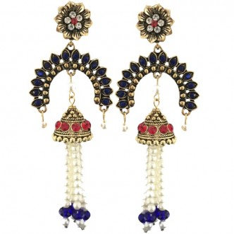 Consort Earrings Blue