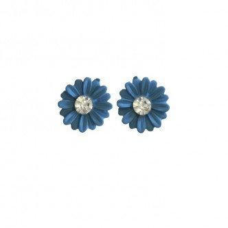 Daisy Earring Blue