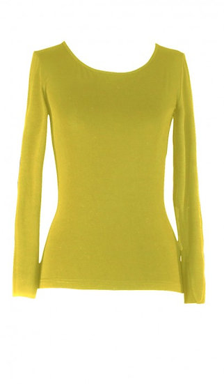 Core Long Sleeve Top Chartreuse