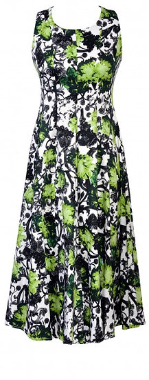 Passion Dress Long Green