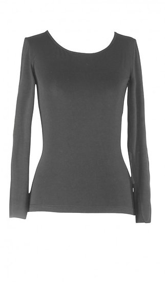 Core Long Sleeve Top Slate