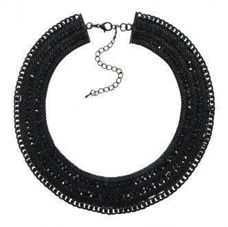 Rocker Necklace Black