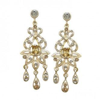 Dazzle Earrings Gold