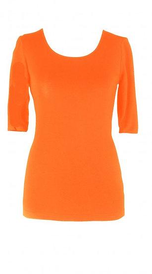 Core Elbow Top Orange