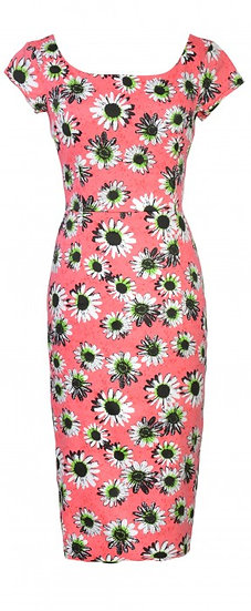Patty Fitted Dress Pink