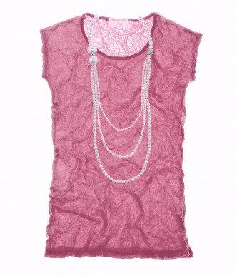 Crush Cap Sleeve Dark Pink