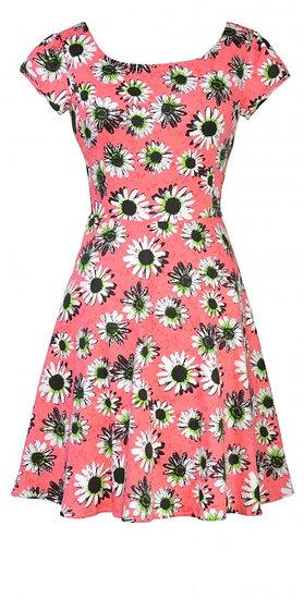 Patty Flare Dress Pink