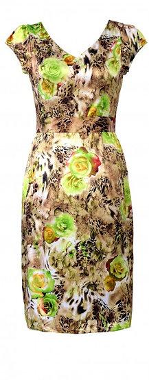 Selena Dress Green