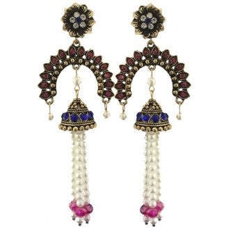 Consort Earrings Pink