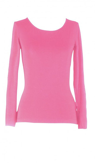 Core Long Sleeve Top Pink