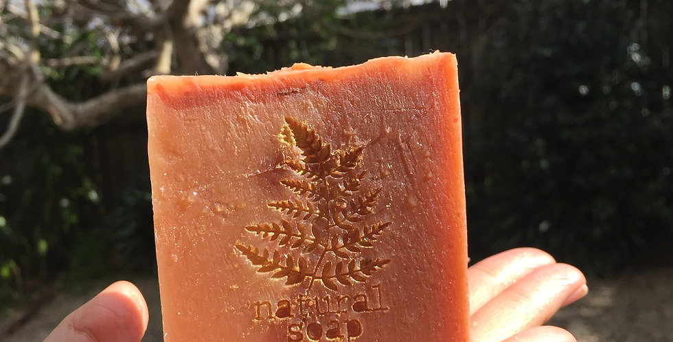 Pink Clay & Pearl Soap